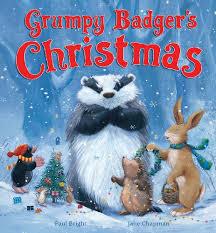grumpy badger